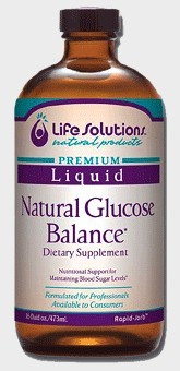 DROPPED: Life Solutions - Liquid Natural Glucose Balance - 16 oz.