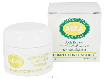 DROPPED: Abra Therapeutics - Therapeutic Skin Care Complexion Clarifier Cream For Blemished Skin - 1.2 oz. CLEARANCE PRICED
