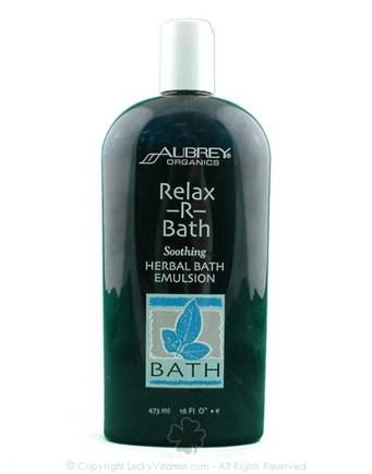 DROPPED: Aubrey Organics - Relax-R-Bath Soothing Herbal Bath Emulsion - 16 oz.