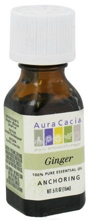DROPPED: Aura Cacia - Essential Oil Anchoring Ginger - 0.5 oz. CLEARANCE PRICED