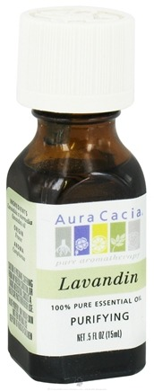 DROPPED: Aura Cacia - Essential Oil Purifying Lavandin - 0.5 oz. CLEARANCE PRICED