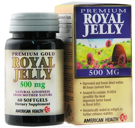 Zoom View - Premium Gold Royal Jelly