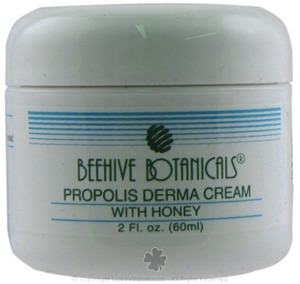 DROPPED: Beehive Botanicals - Therapeutic Propolis Derma Cream - 2 oz.