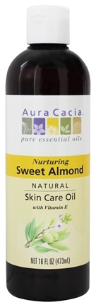 Zoom View - Natural Skin Care Oil Sweet Almond
