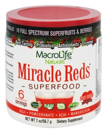 Zoom View - Miracle Reds Antioxidant Super Food