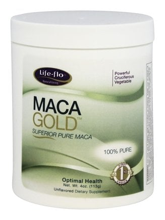 DROPPED: Life-Flo - Maca Gold Superior Pure Maca Unflavored - 4 oz.