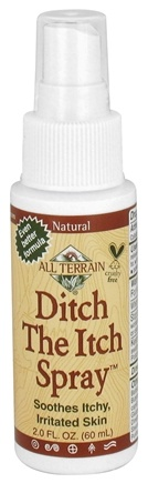 DROPPED: All Terrain - Ditch the Itch Skin Relief Spray - 2 oz.
