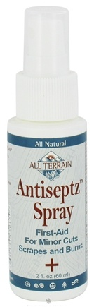 DROPPED: All Terrain - Antiseptz Spray - 2 oz. CLEARANCE PRICED
