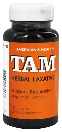 DROPPED: American Health - Tam Herbal Laxative - 100 Tablets