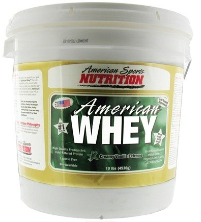 DROPPED: American Sports Nutrition - American Whey Extreme Creamy Vanilla - 10 lbs.