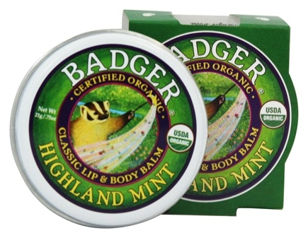 DROPPED: Badger - Lip & Body Balm Highland Mint - 0.75 oz.