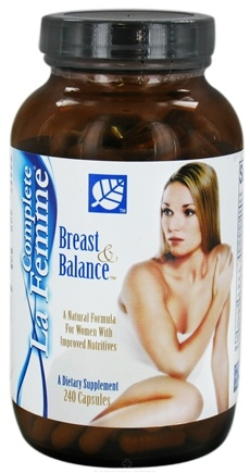 DROPPED: Baywood International - Complete La Femme Breast And Balance - 240 Tablets