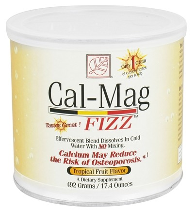 Baywood International - Solutions Cal-Mag Fizz Effervescent Blend Tropical Fruit Flavor - 17.4 oz.