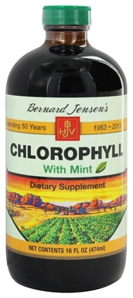 Zoom View - Chlorophyll Liquid with Mint
