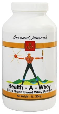 DROPPED: Bernard Jensen - Health-A- Whey Powder - 16 oz.