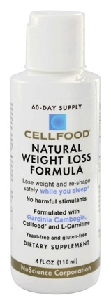 Lumina Health - Cellfood Natural Weight Loss Formula with Garcinia Cambogia - 4 oz.