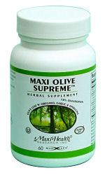 DROPPED: Maxi-Health Research Kosher Vitamins - Maxi Olive Supreme - 60 Capsules