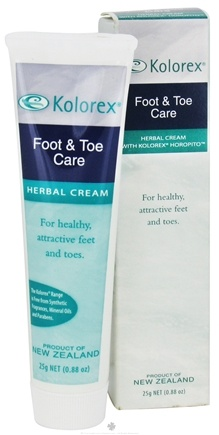 DROPPED: Kolorex -  Foot & Toe Herbal Cream - 25 Grams CLEARANCE PRICED