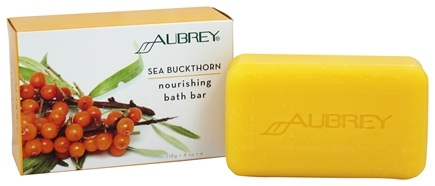 DROPPED: Aubrey Organics - Sea Buckthorn Nourishing Bath Bar - 3.6 oz.