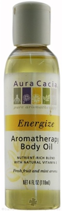 DROPPED: Aura Cacia - Aromatherapy Body Oil Energize - 4 oz. CLEARANCE PRICED