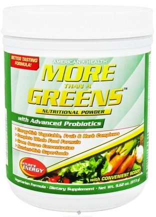Zoom View - More Than A Greens Nutritional Powder with Advanced Probiotic Formula