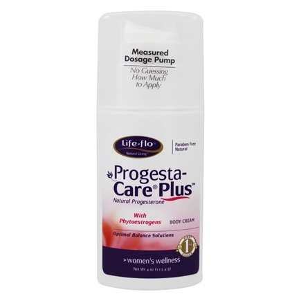 Life-Flo - Progesta-Care Plus Natural Progesterone Body Cream Unscented - 4 oz.