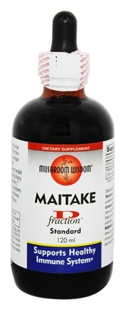 Mushroom Wisdom - Maitake D Fraction - 4 oz. Formerly Maitake Products