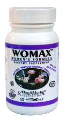 DROPPED: Maxi-Health Research Kosher Vitamins - Womax - 60 Capsules