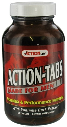DROPPED: Action Labs - Action-Tabs Made For Men - 60 Capsules