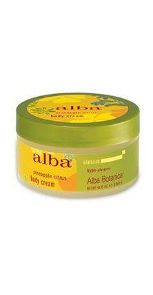 DROPPED: Alba Botanica - Alba Botanica Body Cream Pineapple Citrus - 6.5 oz.