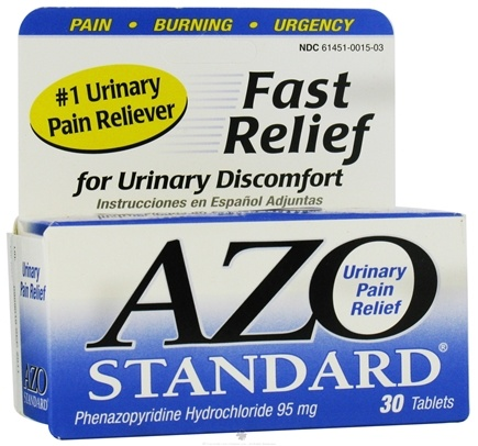 Zoom View - Azo Standard Urinary Tract Relief
