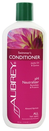 Aubrey Organics - Conditioner Swimmer's pH Neutralizer Almond Apricot - 11 oz.