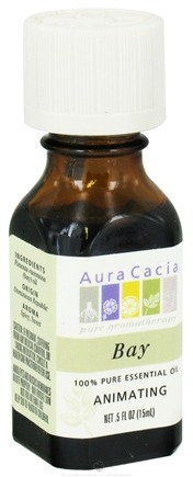 DROPPED: Aura Cacia - Essential Oil Invigorating Bay - 0.5 oz. CLEARANCE PRICED