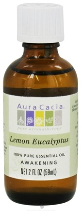 DROPPED: Aura Cacia - Essential Oil Awakening Lemon Eucalyptus - 2 oz. CLEARANCE PRICED