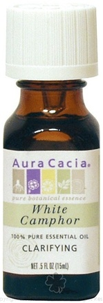 DROPPED: Aura Cacia - Essential Oil Clarifying White Camphor - 0.5 oz. CLEARANCE PRICED
