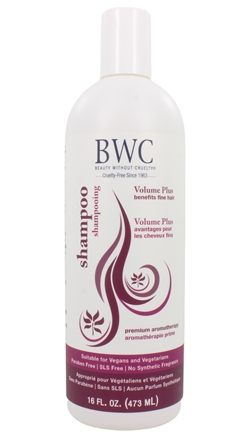 Beauty Without Cruelty - Shampoo Volume Plus For Fine Hair - 16 oz.