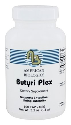 American Biologics - Butyri-Plex 750 mg. - 100 Capsules (formerly Omega Plex)