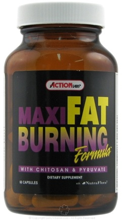 DROPPED: Action Labs - Maxi Fat Burning System - 60 Capsules