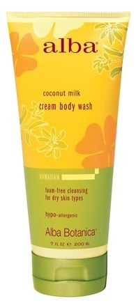 Zoom View - Alba Hawaiian Cream Body Wash