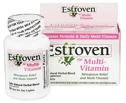DROPPED: Estroven - Menopause Relief Plus Multi-Vitamin - 50 Caplets