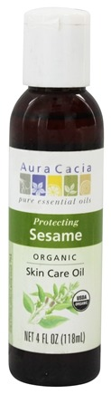 Zoom View - Certified Organic Skin Care Oil Sesame