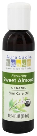 Zoom View - Certified Organic Skin Care Oil Sweet Almond