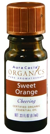 DROPPED: Aura Cacia - Essential Oil Organic Sweet Orange CLEARANCE PRICED - 0.33 oz.