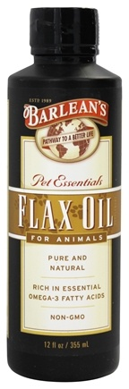 Barlean's - Pet Essentials Flax Oil For Animals - 12 oz.