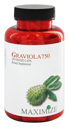 Maximum International - Maximize Graviola 750 mg. - 100 Vegetarian Capsules