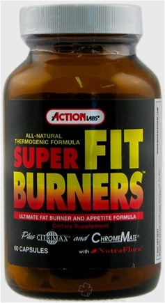 DROPPED: Action Labs - Super Fit Burners - 60 Capsules