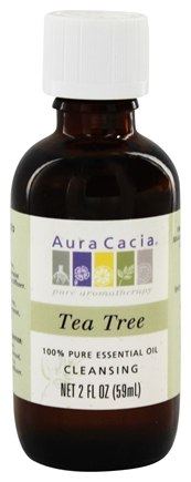 DROPPED: Aura Cacia - Essential Oil Cleansing Tea Tree - 2 oz.