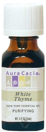 DROPPED: Aura Cacia - Essential Oil Purifying White Thyme - 0.5 oz. CLEARANCE PRICED