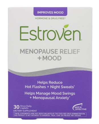 Estroven - Menopause Multi-Symptom Relief for Stress, Mood & Memory - 30 Caplets