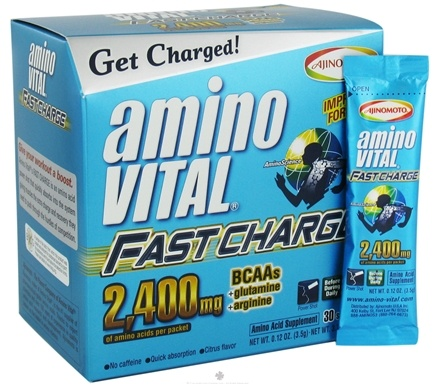 DROPPED: Amino Vital - Fast Charge Citrus - 30 Packet(s)